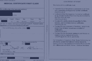 FAA Medical Certificate Issues